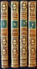 RESTIF de LA BRETONNE - La famille vertueuse (1767 - E.O. - 4 vol. reliés)