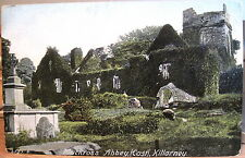 Irish Postcard MUCKROSS ABBEY East side KILLARNEY Ireland Hartmann Saxony