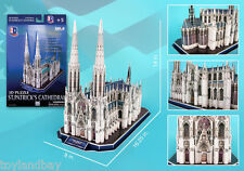 Detailed Architectural Model St Patrick's Cathedral Catholic Church NYC