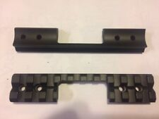 Ruger American Rimfire rifle 1 piece scope base ejection port cut out