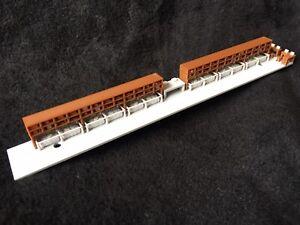 Gold Rush Bay COLOR HO Train Heavyweight RPO Post Office Interior Athearn 60'