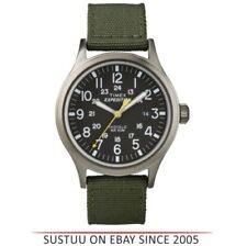 Relojes de pulsera Timex de acero inoxidable resistente al agua