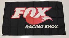 Fox Racing Shox Banner Flag - Car ATV Bike Oil Head Suspension Workshop Mechanic