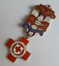 More details for a genuine red cross proficiency in nursing medal 3 1950s bars 1624 g.e.m. holmes