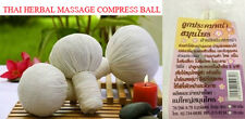 BEST SELLER THAI HERBAL MASSAGE COMPRESS BALL FOR FACE&BODY RELAXING SPA AROMA