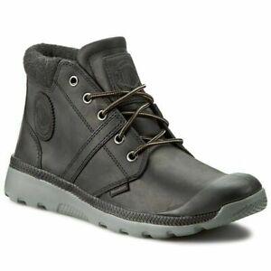 Palladium Men Pallaville Hi Cuff L 05160-068-M Comfort Shoes Black EU 40