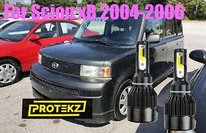 LED For Scion xB 2004-2006 Headlight Kit H4/9003 White CREE Bulbs HI/Low Beam