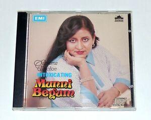 Intoxicating Munni Begum ~ Pakistani Ghazals CD ~ FIRST EDITION Switzerland