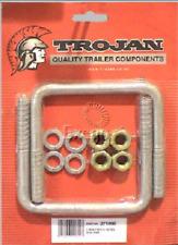 271090 - Trojan U Bolt Mount Kit M12 100mm x 100mm Square Pair Galvanised