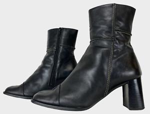 Lilley /& SKINNER Noir Slim bottines à enfiler