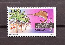 Mexico 1999 Colima Perm Series $5 Sea Port Palm Trees Swordfish Coast TourismMNH