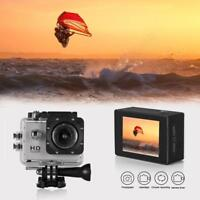 2.0'' Action Camera HD 1080P 120° Home Sports Digital Video Recorder Camcorder