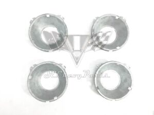 1958-1966 Chevy Impala 5 3/4 in. Headlight Sub Buckets, Set 4 (R1 R2 L1 L2)