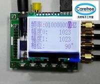 4 Channel AD9959 200MHz DDS Signal Generator 500MSPS +Software+12864 Display