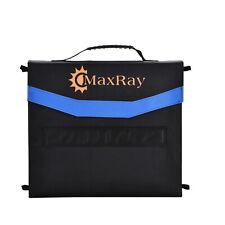 200W Folding Solar Panel Blanket 12V Solar Mat Kit Mono Camping Power USB Maxray
