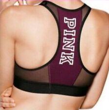 Victoria's Secret Pink Mesh High Neck Racerback Sports Bra M. $32