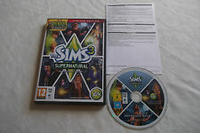 THE SIMS 3 SUPERNATURAL LIMITED EDITION EXPANSION PC/MAC DVD V.G.C. FAST POST
