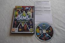 Los Sims 3 Edición Limitada sobrenatural Expansión PC/Mac DVD v.g.c. Rápido Post