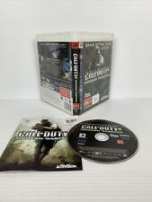 New listing Call of Duty 4: Modern Warfare Game of The Year Edition PS3 PlayStation TRACKED