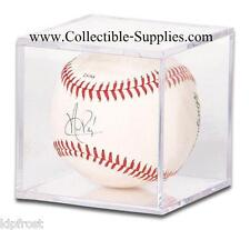 12 Baseball Ball Square Display Cube Cases w/ No Cradle
