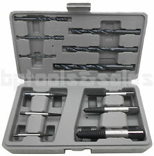 12pc HSS Easy Out Rigid Screw Extractor Set Broken Bolt Stud Fastener w/ Case