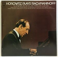 Horowitz Plays Rachmaninoff Sonata Prelude 3 Etudes Columbia M 30464 Vinyl LP