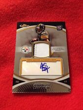 2010 Topps Finest RC Jonathan Dwyer Auto Game Used Patch! /400 Steelers Rare