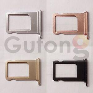 iPhone 7 Ersatz Simcard Holder SIM Slot Sim tray pink rosa schwarz gold silber