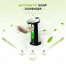 400ML Automatic Touchless Liquid Soap Dispenser Smart Sensor ABS Electroplated