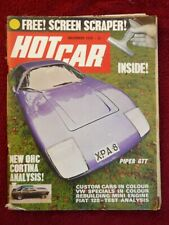 Hot Car Magazine November 1970 Transportation Magazine