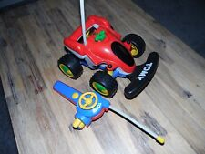 TOMY Little R/C Buggy 1ST Radio Controllato AUTO BIG FUN ORIGINALE Classic Toy