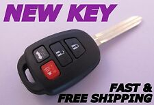 OEM TOYOTA CAMRY keyless entry remote fob HYQ12BDM H chip +NEW CASE W/ UNCUT KEY
