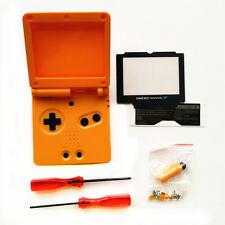 Orange Shell Housing for Nintendo Gameboy Advance SP GBA SP Console