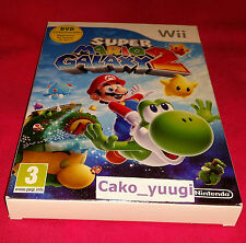 SUPER MARIO GALAXY 2 NEUF NINTENDO WII VERSION 100% FRANCAISE EDITION FRA-2