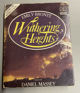 Wuthering Heights Emily Bronte Double Cassette Read By Daniel Massey
