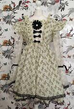 *OOAK* Brand New Handmade Unicorn Midi Dress Size14/16 Lolita Sissy