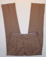 JOS a BANK Pants NEW British TAN Windsor NEWPORT Cotton BLEND Mens SIZE Sz 34 37