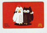 McDonalds Gift Card - Owls Hugging / Aaron Thong, Threadless Artist - No Value
