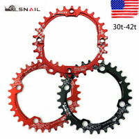 SNAIL 30-42T 104bcd Narrow Wide Chainring Aluminium MTB Bike Sprocket Chainwheel