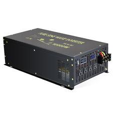 10000W Pure Sine Wave Inverter 48V to 120V Car Power Converter Battery Dc Ac Rv