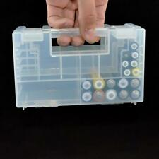 Hartplastik AAA C Batterie Healthy Case Lagerung-Halter-Organizer-Box ss