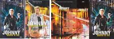 JOHNNY HALLYDAY 2 K7 VHS + BOITIER (Stade de France 1998,Les coulisses du stade)