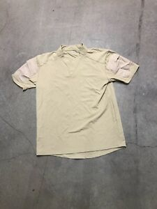 Velocity Systems Rugby Shirt Small Tan CAG DEVGRU SEAL