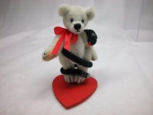"World of Miniature Bears By Theresa Yang 2.5""/5"" Plush Bear Slinky #1120 CLOSING"