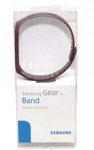 New Original Samsung Ruby Red Plastic Band Replacement for Gear Fit Smartwatch