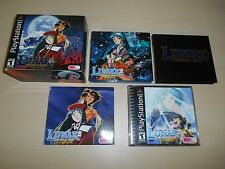 Lunar 2 II Eternal Blue Complete PS1 Playstation 1 Game CIB Boxed