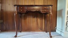Bombay Company wood vanity or desk with hideaway mirror