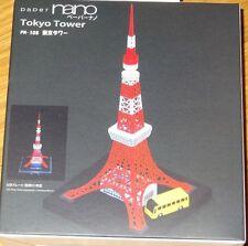 Tokyo Tower Paper Nano Kawada Laser Cut Paper Model Kit PN108