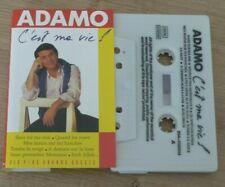 Cassette K7 Tape ADAMO C'est Ma Vie 264-1192414