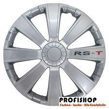"4x Radzierblenden Radkappen RS-T RST 15 "" Zoll VW BMW Audi Renault Citroen Opel"
